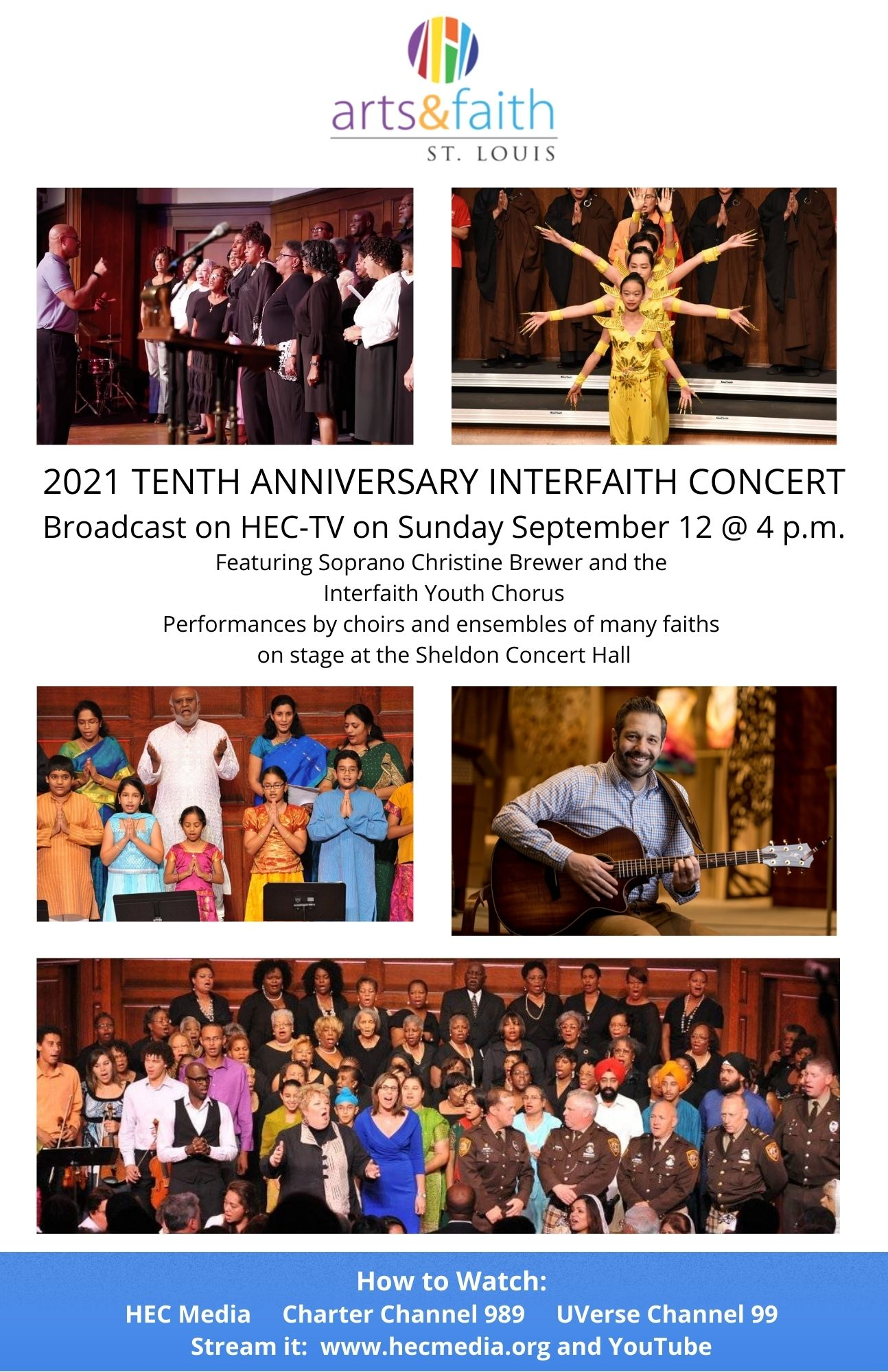 Arts and Faith 2021 poster